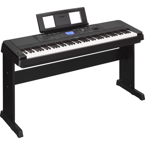 Yamaha DGX-660 - Portable Grand Digital Piano (Black)