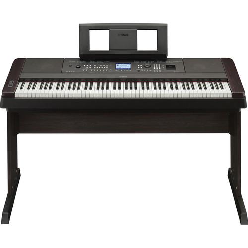 Yamaha DGX-650 Portable Grand Digital Piano Essentials Bundle (Black)
