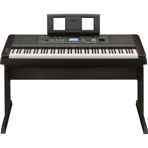 Yamaha DGX-650 Portable Grand Digital Piano Stage Bundle (Black)