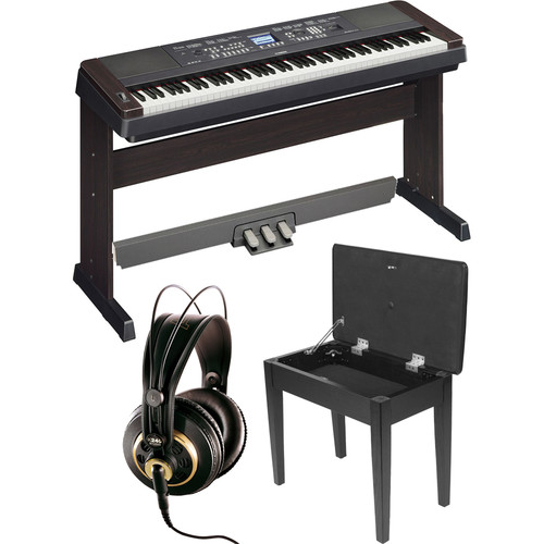 Yamaha DGX-650 PortableGrand Piano Expansion Kit (Black)