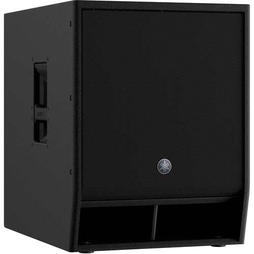 "Yamaha DXS15XLF-D 1600W 15"" Powered Subwoofer (Dante-Equipped) (Black)"
