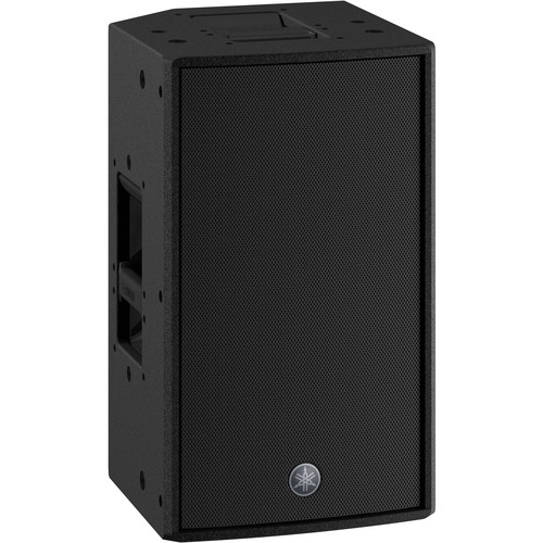 "Yamaha DZR10-D 2000W 2-Way 10"" Powered Loudspeaker (Dante-Equipped) (Black)"