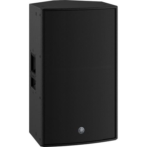 "Yamaha DZR15-D 2000W 2-Way 15"" Powered Loudspeaker (Dante-Equipped) (Black)"