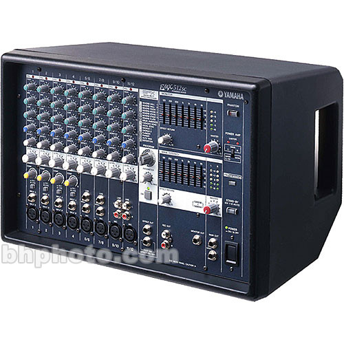 Yamaha EMX512SC 12-Channel Stereo Powered Mixer and S115V Speaker Pair Kit