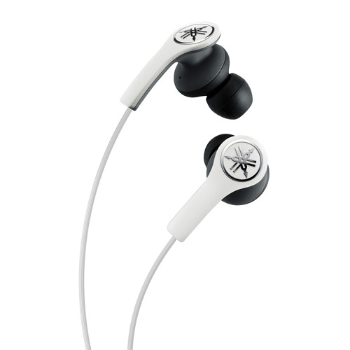 Yamaha EPH-M200 In-Ear Headphones with Remote and Mic (White)