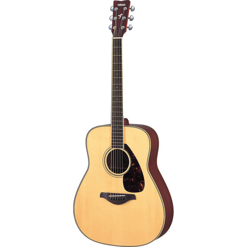 Yamaha FG720S Solid-Top Acoustic Guitar (Natural)