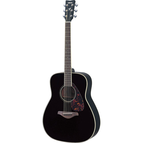 Yamaha FG720S Solid-Top Acoustic Guitar (Black)