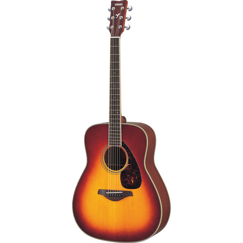 Yamaha FG720S Solid-Top Acoustic Guitar (Brown Sunburst)