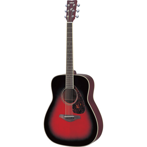 Yamaha FG720S Solid-Top Acoustic Guitar (Dusk Sun Red)