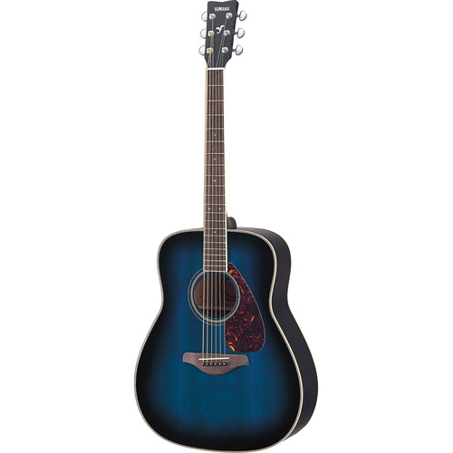Yamaha FG720S Solid-Top Acoustic Guitar (Oriental Blue Burst)