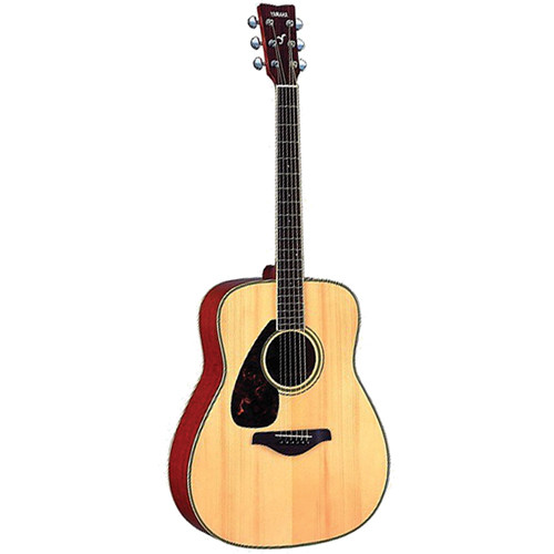 Yamaha FG720S Solid-Top Acoustic Guitar (Natural, Left-Handed)