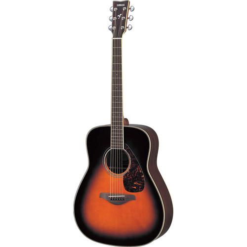 Yamaha FG730S Solid-Top Acoustic Guitar (Tobacco Sunburst)