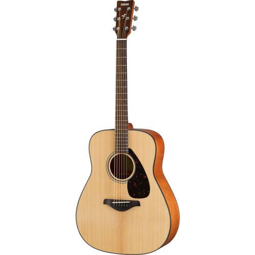 Yamaha FG800 FG Series Dreadnought-Style Acoustic Guitar (Natural)