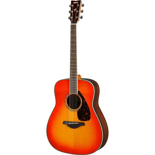 Yamaha FG830 FG Series Dreadnought-Style Acoustic Guitar (Autumn Burst)