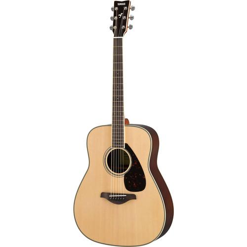 Yamaha FG830 FG Series Dreadnought-Style Acoustic Guitar (Natural)