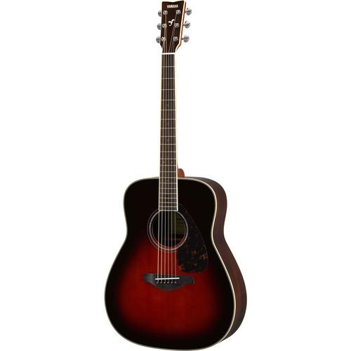 Yamaha FG830 FG Series Dreadnought-Style Acoustic Guitar (Tobacco Brown Sunburst)