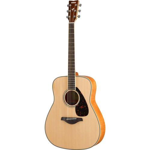 Yamaha FG840 FG Series Dreadnought-Style Acoustic Guitar (Natural)