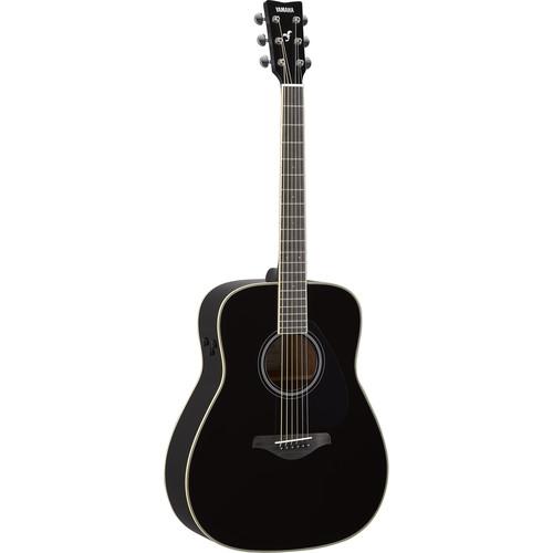 Yamaha FG-TA TransAcoustic Guitar (Black)