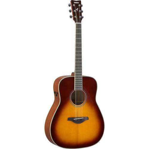 Yamaha FG-TA TransAcoustic Guitar (Brown Sunburst)