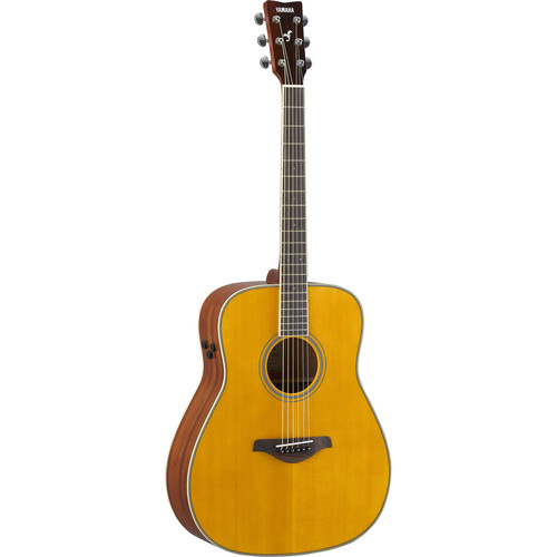 Yamaha FG-TA TransAcoustic Guitar (Vintage Tint)