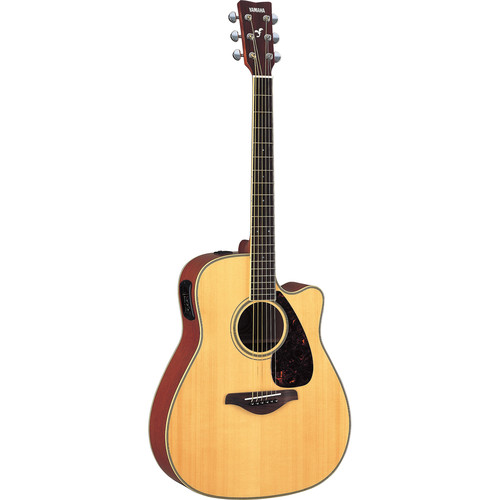 Yamaha FGX720SCA Acoustic/Electric Guitar (Natural)