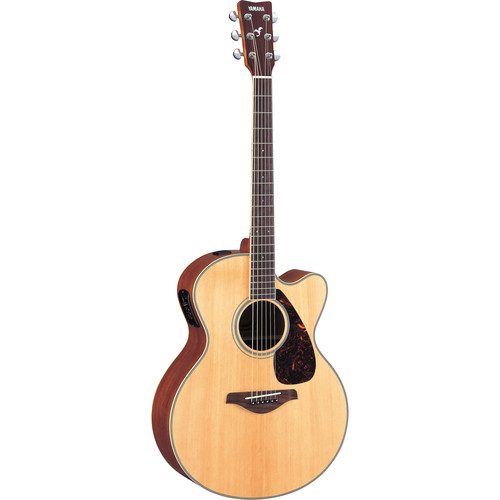 Yamaha FJX720SC Medium-Jumbo Acoustic/Electric Guitar (Natural)
