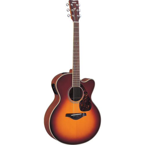 Yamaha FJX720SC Medium-Jumbo Acoustic/Electric Guitar (Brown Sunbrust)