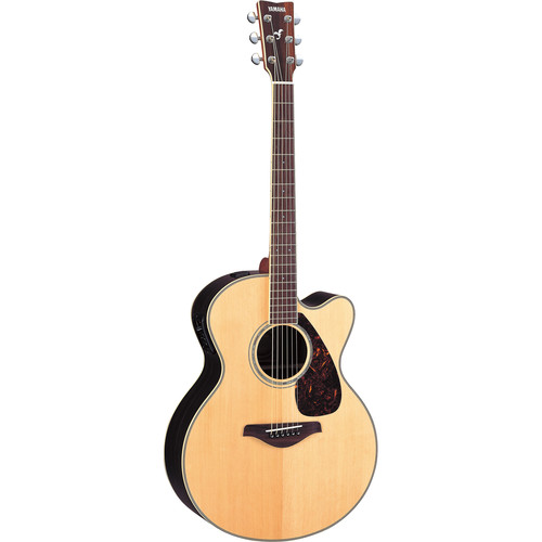 Yamaha FJX730SC Medium-Jumbo Acoustic/Electric Guitar (Natural)