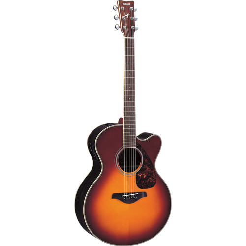Yamaha FJX730SC Medium-Jumbo Acoustic/Electric Guitar (Brown Sunburst)