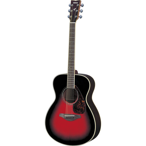 Yamaha FS730S Solid-Top Acoustic Guitar (Dusk Sun Red)