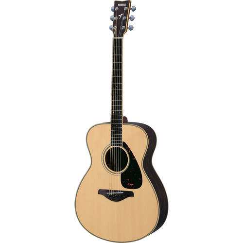 Yamaha FS730S Solid-Top Acoustic Guitar (Natural)