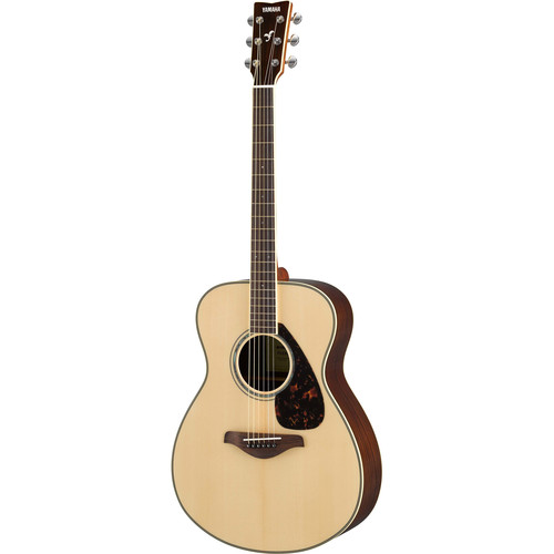 Yamaha FS830 FS Series Concert-Style Acoustic Guitar (Natural)