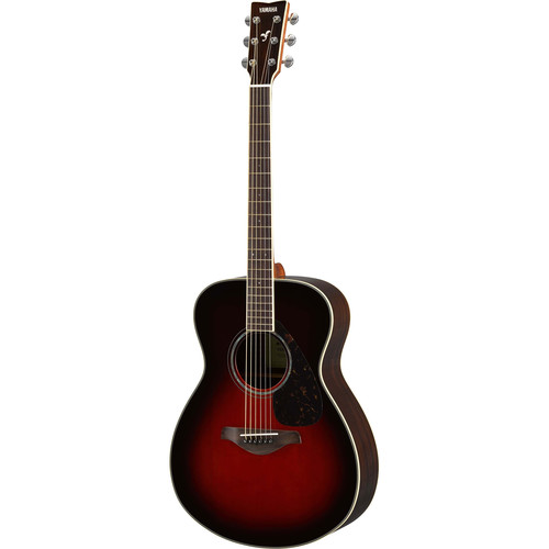 Yamaha FS830 FS Series Concert-Style Acoustic Guitar (Tobacco Brown Sunburst)