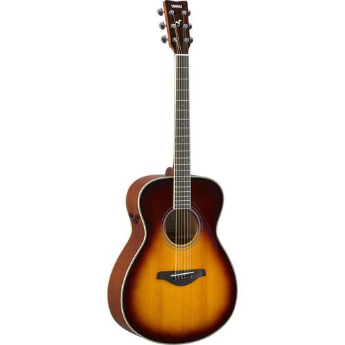 Yamaha FS-TA TransAcoustic Guitar (Brown Sunburst)