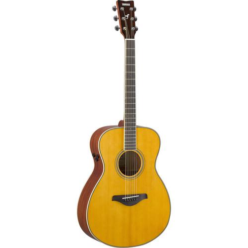 Yamaha FS-TA TransAcoustic Guitar (Vintage Tint)