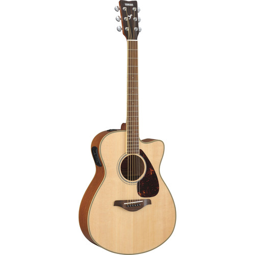 Yamaha FSX720SC Small-Body Acoustic/Electric Guitar (Natural)