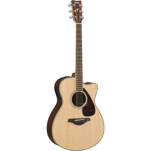 Yamaha FSX730SC Small-Body Acoustic/Electric Guitar (Natural)