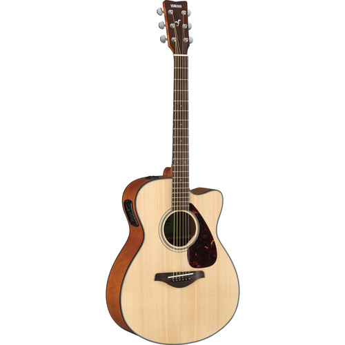 Yamaha FSX800C FSX Series Concert-Style Acoustic/Electric Guitar (Natural)