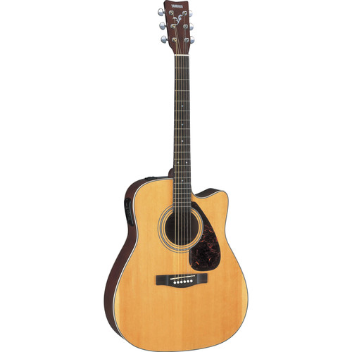 yamaha fx370c acoustic electric cutaway guitar natural fx370c. Black Bedroom Furniture Sets. Home Design Ideas