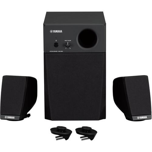 Yamaha 3-Piece 2.1 Active Speaker System for Genos 76-Key Digital Workstation