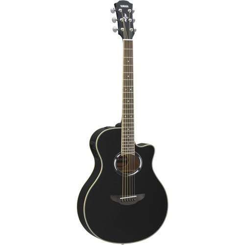 Yamaha APX500III Thinline Acoustic/Electric Cutaway Guitar (Black)