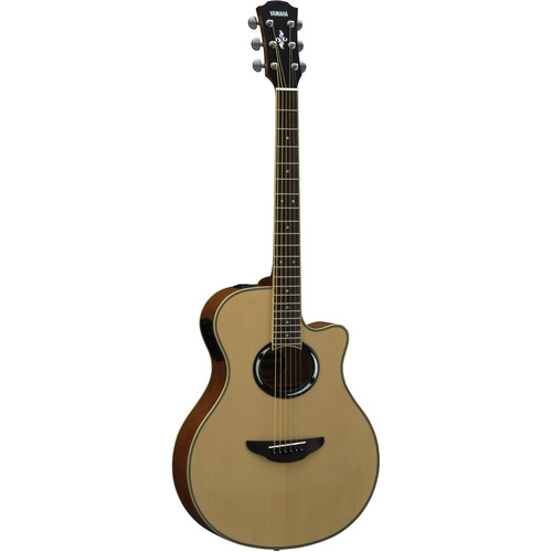 Yamaha APX500III Thinline Acoustic/Electric Cutaway Guitar (Natural)