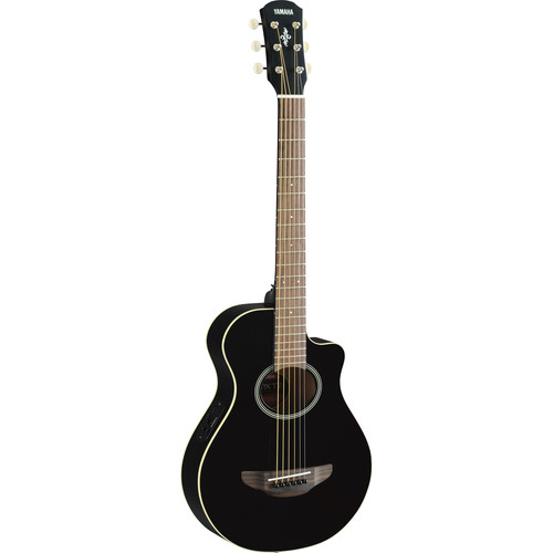 Yamaha APXT2 3/4-Size Thinline Acoustic/Electric Cutaway Guitar (Black)