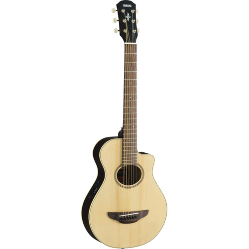 Yamaha APXT2 3/4-Size Thinline Acoustic/Electric Cutaway Guitar (Natural)