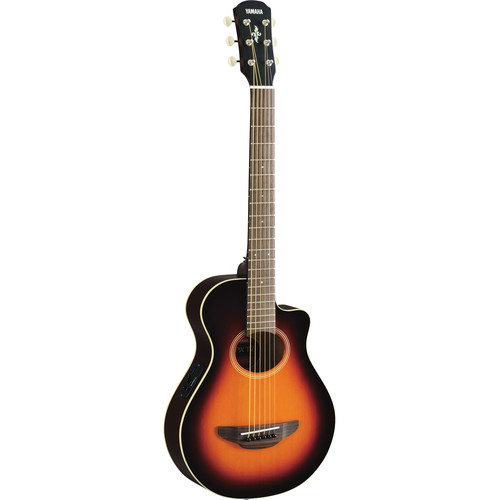 Yamaha APXT2 3/4-Size Thinline Acoustic/Electric Cutaway Guitar (Old Violin Sunburst)
