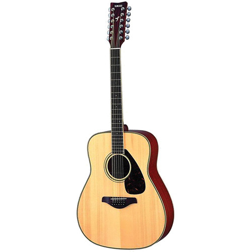 Yamaha FG720S-12 Twelve-String Acoustic Guitar (Natural)