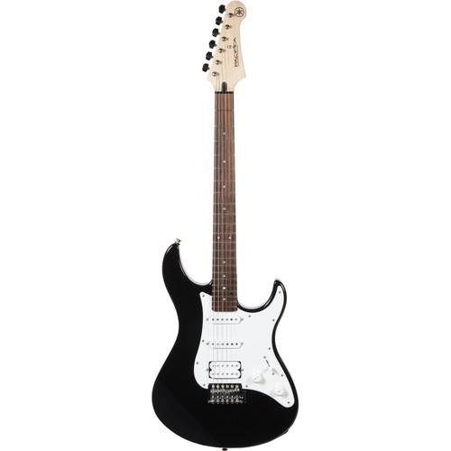 Yamaha PAC012 Pacifica Double Cutaway Electric Guitar (Black)