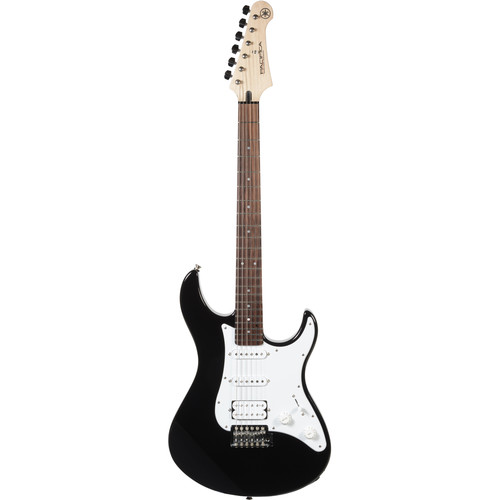 Yamaha PAC012 Pacifica Double Cutaway Electric Guitar (Black)