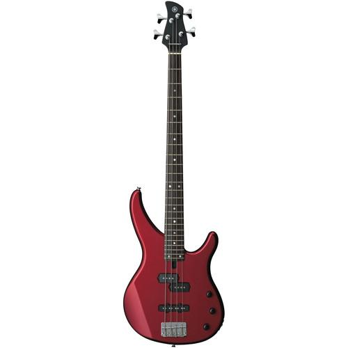 Yamaha TRBX174 4-String Electric Bass (Red Metallic)