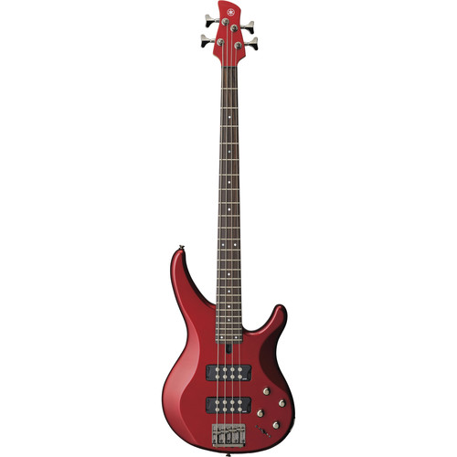 Yamaha TRBX304 4-String Electric Bass (Candy Apple Red)